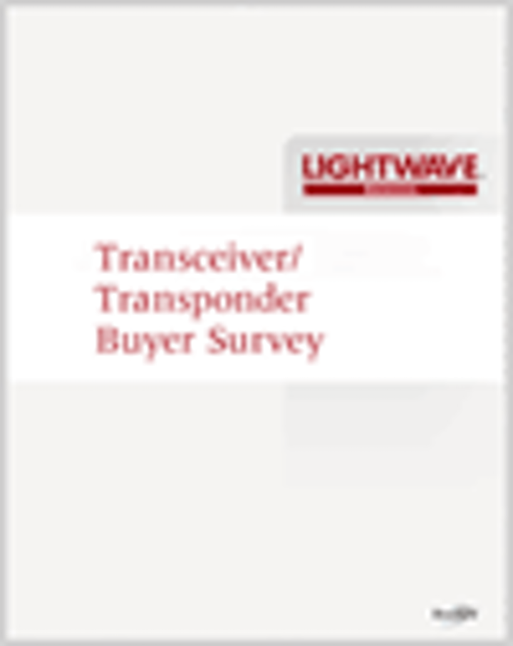 Lightwave's 2010 Transceiver/Transponder Buyer Survey