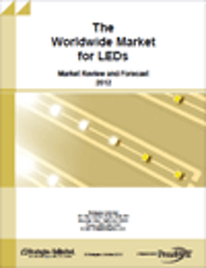 The Worldwide Market for LEDs: Market Review and Forecast – 2012